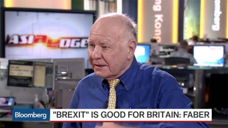 Brexit Marc Faber Bloomberg