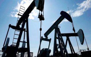 Oil Price Down Pumpjacks