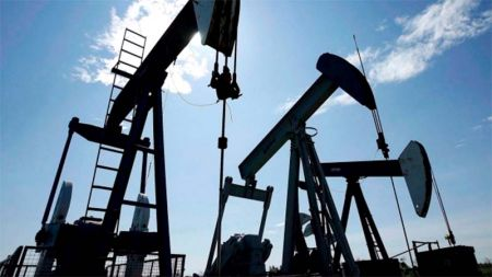 Oil Price Down Pumpjacks