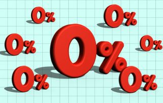 Zero Percent Interest Rate