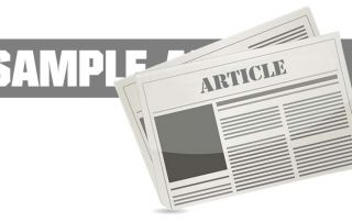 Sample Oil & Gas Article