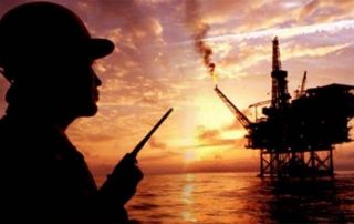 Oil Price Down Oil Platform